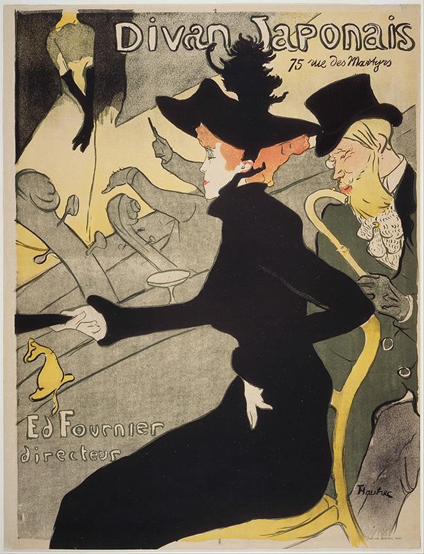 Henri de Toulouse-Lautrec - Divan Japonais - Google Art Project-2