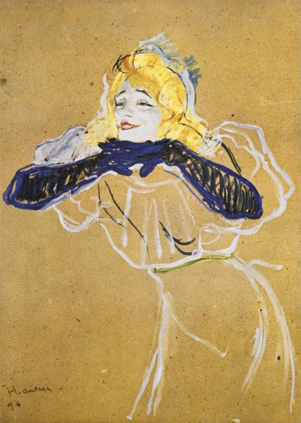 Lautrec Yvette Guilbert-1